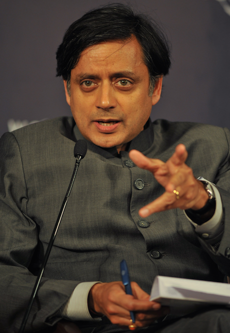 Shashi Tharoor is looking for votes in Kerala