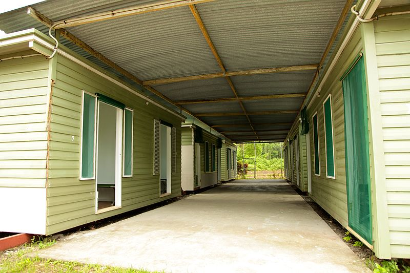 Existing Australian immigration detention centre on Manus Island, PNG